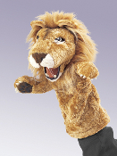 Lion Stage Puppet