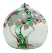 Oil Lamp - tree of enchantment -Christmas- 6""